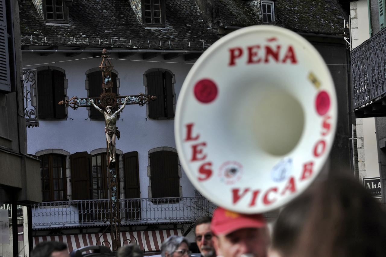 Entraygues sur Truyère Aveyron carnaval 1 mars 2020